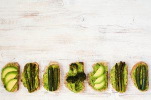 avocado in sandwich